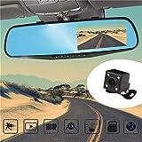 Die besten Dash Cams für Fahrzeuge - Hermosairis 4-Zoll Display 1080P HD Dual Objektiv Auto Bewertungen