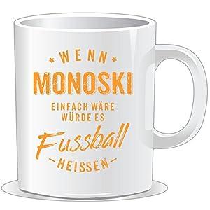 getshirts - RAHMENLOS® Geschenke - Tasse - Wenn Monoski einfach wäre würde es...