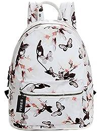 Tibes Casual mochila impermeable para las niñas Daypack