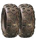 Paire de pneus Quad Duro Buffalo 25x 8x 12type E Route Legal 6plis