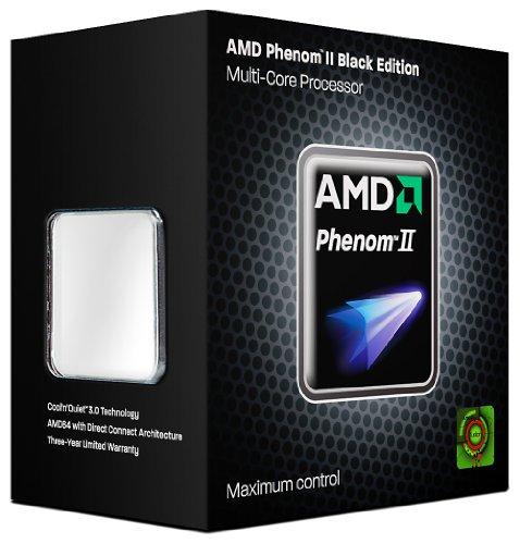 Quad-Core Prozessor Black Edition (Sockel AM2+, 3GHz, 8MB L2+L3 Cache) ()