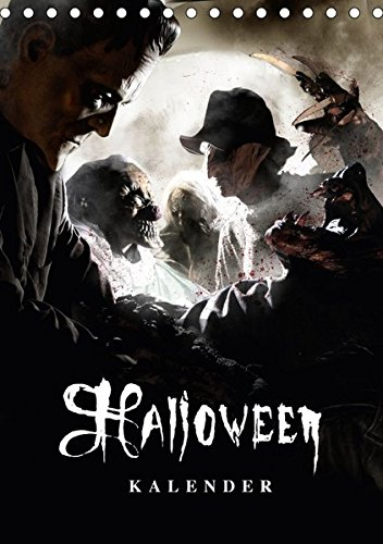 llusionen - Kalender 2017 (Tischkalender 2017 DIN A5 hoch): Halloween Optische Illusionen (Monatskalender, 14 Seiten ) (CALVENDO Spass) (Burg Frankenstein Halloween-2017)