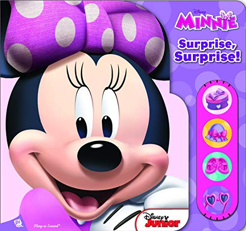 Surprise, surprise ! Disney Minnie : Un livre sonore à volets PDF Books