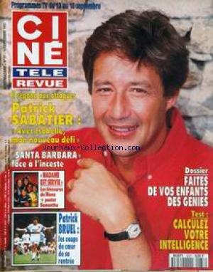 Bruel Barbara - CINE TELE REVUE [No 37] du 10/09/1992