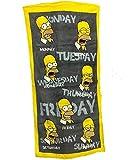 Toalla de playa de Homer Week, toalla de mano piscina beach towel The Simpsons 07795 *