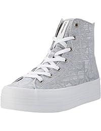 Calvin Klein Sneakers Altas ZabrinaPlateadoCaña: 12 cm