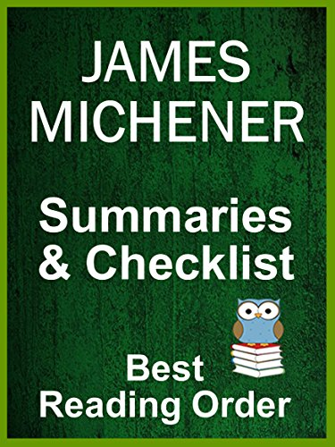 James Michener Books In Order With Summaries And Checklist All