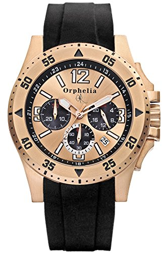 Orphelia–Montre chronographe pour homme Montre bracelet Clipso or121–6902–24