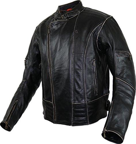 Motorrad Lederjacke (L)