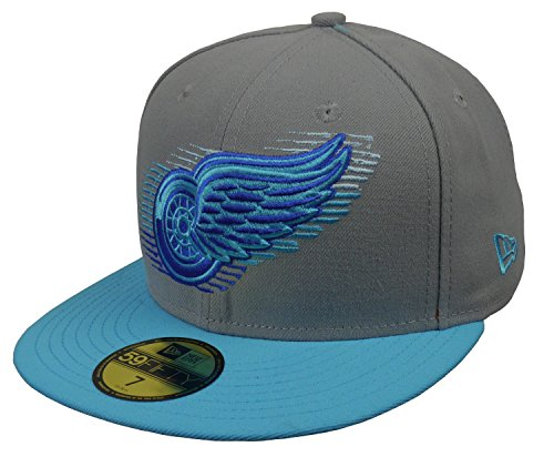 NEW ERA 59Fifty LOGOMOTION DETROIT RED WINGS CAP
