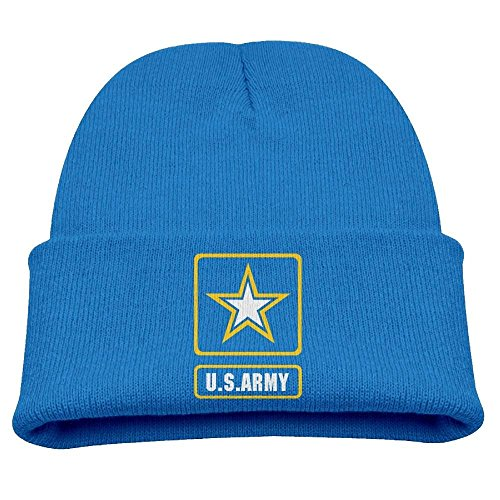 hat pillow Hat Us Army Star Infant Baby Knitted Hat Bones Beanie for Autumn/Winter - Infant Knit Beanie Orange