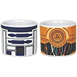 Star Wars 599386031 – Eierbecher-Set, R2D2 und C3PO