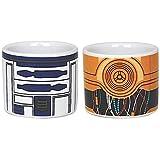Star Wars 599386031–Eierbecher-Set, R2D2und C3PO
