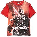 Star Wars Characters, Camiseta para Niños, Rojo (Red 19-1763TC), 6 Años