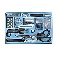 Unbekannt Sewing Kit 143-Piece with Scissors, Seam Separator, Sewing Machine Needles