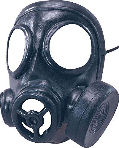Gas Zubehör Maske Kostüm - Erwachsene Weihnachten 1940's Kostüm Zubehör lustige Party Kriegszeit Gummi Gas Maske
