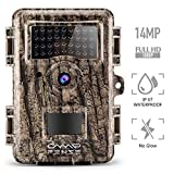 "CampFENSE Wildkamera Wildtierkamera Jagdkamera 14MP 1080P Full HD 2.4"" LCD, Wasserdichte IP67 Trigger Time<0.3s 940nm Nachtsicht wildcamera für Outdoor-Natur, Garten, Haussicherheitsüberwachung"