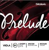 D\'Addario Bowed Jeu de cordes pour alto D\'Addario Prelude, «Short Scale», tension Medium