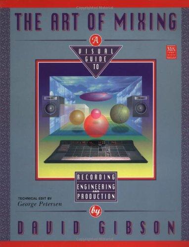 The Art of Mixing (Mix Pro Audio Series) por Gibson