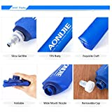 Glacière pliable de Sports sans BPA PVC, bouilloire à eau douce, bouteille thermos douce de randonnée, bouteille d'hydratation, 250ML