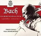 Bach J S: Sonatas for Vla Da Gamba & Harps Nos 1-3 by Pablo Casals & Paul Baumgartner