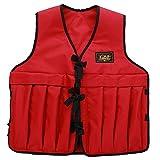 TENGGO Uomini Regolabile Multi Tasche Weighted Vest Giacca Pesca