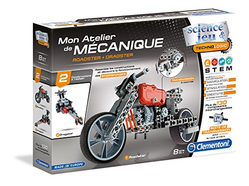 Clementoni-52216-Atelier-Mcanique-Roadster-Dragster-Jeu-scientifique