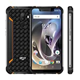 Smartphone, ZOJI 5,85 Zoll 18: 9-Bildschirm, 3 + 32 GB Android 8.1 Mediatek MT6739, Quad Core 1,3 GHz, IP68, Fingerabdruckscanner, Dual-Card-Kameratelefon