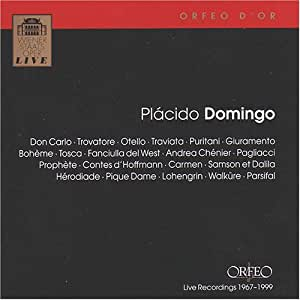 Placido Domingo --- Live Recordings 1967-1999