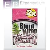 Platinum Double Blunt Wrap Chicle De Globo 1 Caja (25x2)