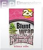 Best Wraps Bubble - Blunt Wrap Double Platinum Bubble Gum 25 x Review