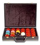 Koffer f�r Snooker-Kugeln 52mm, schwarz Bild