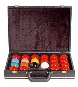 Koffer für Snooker-Kugeln 52mm, schwarz