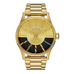Nixon Sentry - Star Wars - Montre Homme - Bracelet Acier inoxydable doré -  SS C-3PO