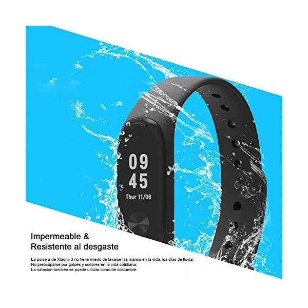 Madozon 13 Piezas Correas para Xiaomi Mi Band 3 /Mi Band 4 Pulsera Reloj Silicona Banda para Mijia Mi Band 4-13 Colores 3