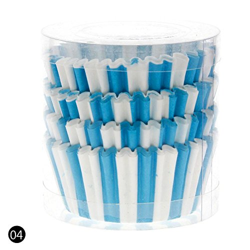 Teabelle 100Mini Papier Cupcake Fall Hochzeit Wrapper Muffin Liners Backförmchen 4