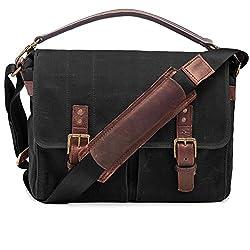 Ona Prince Street Messenger Bag Black