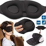 WLGREATSP 3D-Schlafmaske Augen-Augenbinde weicher Schwamm gepolsterte Reise-Schlafhilfe Block Licht