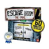 Goliath Games IG40643 Escape Room The 3 Pack Family Game for 16+, Multi Juego de construcción