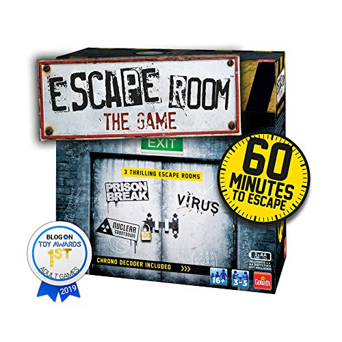 Goliath Games IG40643 Escape Room The 3 Pack Family