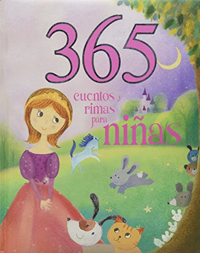 365 Cuentos y Rimas Para Ninas / 365 Stories and Rhymes for Girls (365 Stories Treasury) por Parragon Books