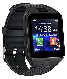 VELL- TECH Meizu MX4 Pro Compatible Bluetooth Smart Watch Phone With Camera a...Wireless Connectivity, BT Camera. Receive Notifications from Facebook, Whatsapp, QQ, WeChat, Twitter, Fitness & Activity Tracker, Time Schedule, Read Message or News, Sports, Health, Pedometer, Sedentary Remind & Sleep Monitoring. Digital Touch Screen Display, Loud Speaker, Mic & Multi-Language Support. Compatible with Tablet, PC & iOS, Android, Blackberry, Windows Phones