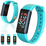 inDigi X6s Bluetooth Smartwatch Fitness Tracking Bracelet Pedometer + Heart Rate Monitor +
