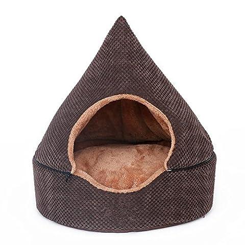 Hundehütte Abnehmbare yurts Warm Winter Teddy Mini Hund Pet House
