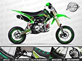 Moto Pit Bike GUNSHOT 150 FX - Édition MONSTER - Vert - 2018