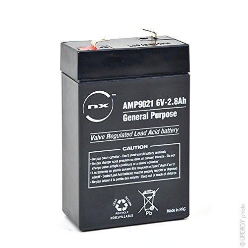 NX - Batteria AGM Piombo S 6V-2.8Ah 6V 2.8Ah T1 - Unità