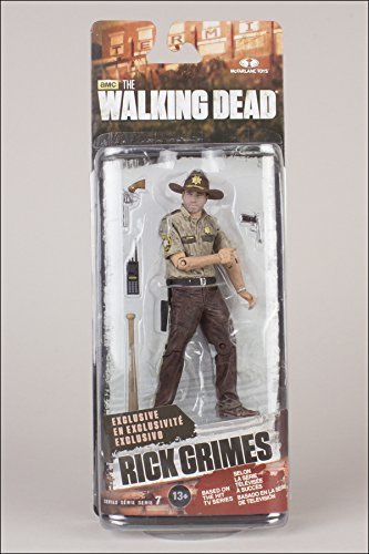 The Walking Dead TV Series 7 Exclusive Rick Grimes Action Figure by Mcfarlane Toys