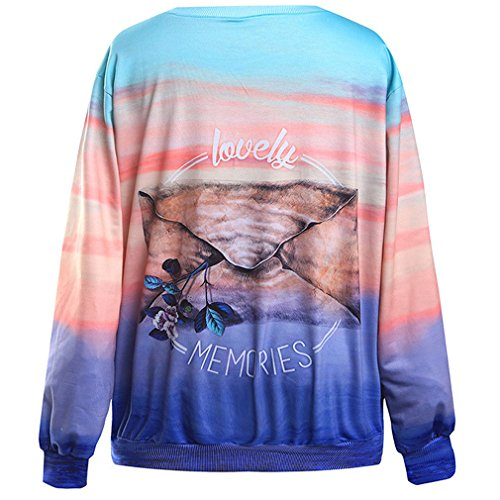 THENICE Femme Hip-Hop sport Sweat-shirts Flower