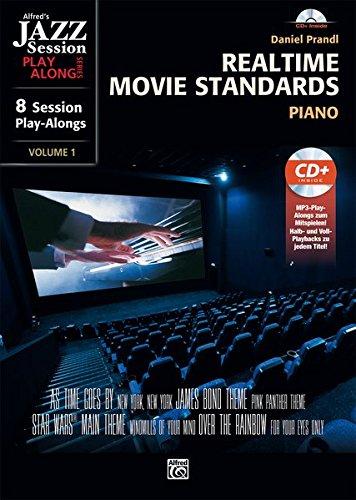 Preisvergleich Produktbild Realtime Movie Standards: Realtime Movie Standars für Piano     Piano     Buch & CD