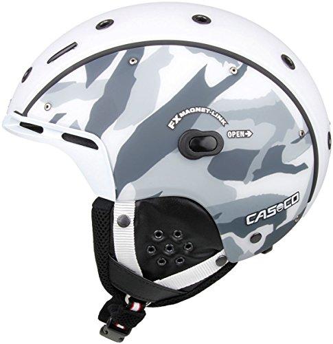 Casco SP-6 Airwolf Skihelm Camo weiss/schwarz/grau Gr. L 58-62 cm 2659L